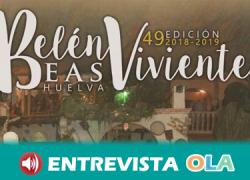El Belén viviente de la localidad de Beas, la esceneficación más grande de Andalucía, cumple 49 años