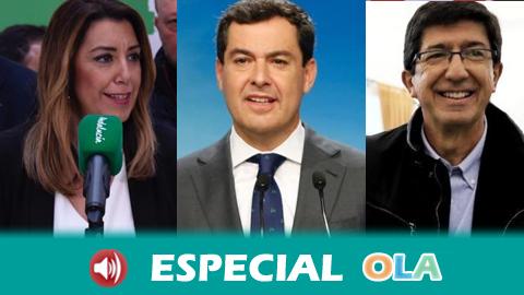 El resultado de las elecciones andaluzas augura una semana de movimientos políticos