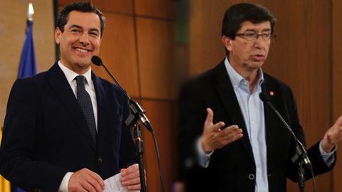 Segunda reunión para pactar el nuevo Gobierno andaluz entre PP y Ciudadanos sin acuerdo