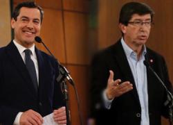 Se celebra la sesión constitutiva del Parlamento andaluz en la que tras semanas de pactos y acuerdos, Partido Popular y Ciudadanos liderarán el nuevo gobierno