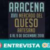 El Mercado del Queso Artesano de Aracena es un escaparate para las queserías locales que dinamizan los territorios y crean oportunidades laborales