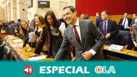 Juanma Moreno es proclamado presidente de la Junta de Andalucía