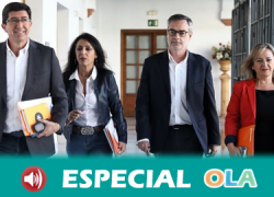 Ciudadanos rechaza que se vaya a abrir una mesa de negociación en Andalucía con Vox