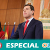 Juan Manuel Moreno jura el cargo como nuevo presidente de la Junta de Andalucía