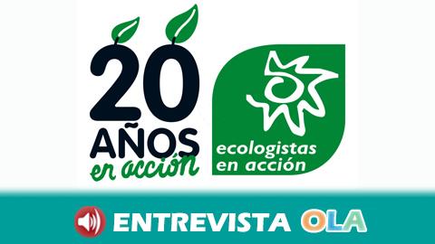 Ecologistas en Acción lamenta que el nuevo Gobierno andaluz no cuente con una consejería propia de medio ambiente