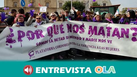Más de 150 colectivos feministas de Andalucía protestan contra los recortes de derechos a las puertas del Parlamento