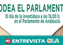 Los sindicatos SAT, CNT y Co.bas convocan una movilización para rodear el Parlamento de Andalucía