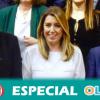 Susana Díaz liderará la oposición como presidenta del Grupo Socialista en el Parlamento de Andalucía