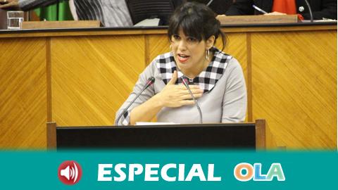 Adelante Andalucía asegura que votará no al candidato del Partido Popular y acusa a la derecha de negar la violencia machista