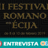 La localidad sevillana de Écija celebra la segunda edición de su Festival Romano
