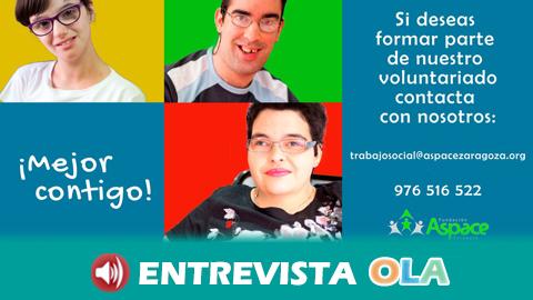 La campaña '¡Mejor contigo!' busca promover la inclusión social de las personas con parálisis cerebral mediante la acción del voluntariado andaluz