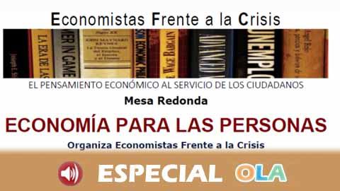 Economistas frente la Crisis reclama un debate económico centrado en las personas en estas elecciones