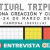 Exposiciones, rutas culturales y arte urbano componen el programa del Festival Triple C de Carmona