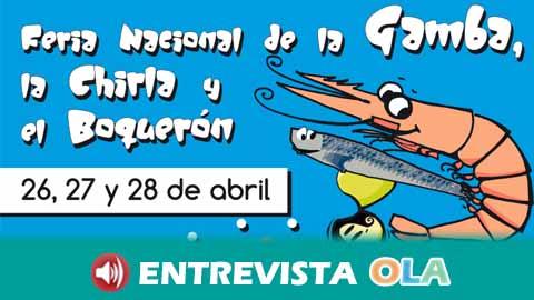 Punta Umbría celebra la vigésimo quinta edición de la Feria Nacional de la Gamba, la Chirla y el Boquerón