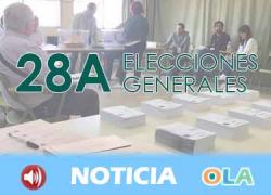 La participación andaluza en las elecciones generales sube un 7% respecto a 2016 según el recuento provisional de las 18 horas
