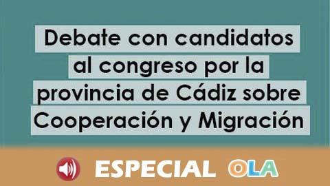 La Coordinadora de ONGD de Cádiz y CEAIN Acoge trasladan sus propuestas sobre derechos humanos a los partidos políticos