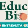 El programa escolar 'EducaBio' promueve la alimentación saludable y ecológica desde la infancia como alternativa al modelo de consumo actual