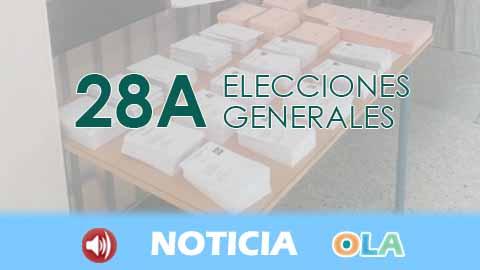 Abren con normalidad todos los colegios electorales en Andalucía
