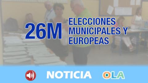 El llamamiento a la participación es el mensaje principal de los representantes políticos andaluces