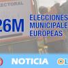 Casi 6,5 millones de personas llamadas a votar en las elecciones municipales en Andalucía