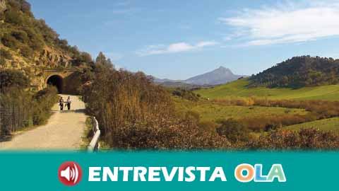 El Día Nacional de las Vias Verdes se celebra en Andalucía con un amplio programa de actividades
