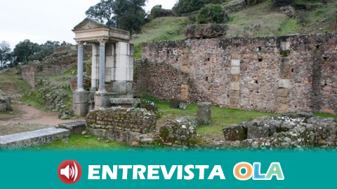 El yacimiento arqueológico de Mulva-Munigua es el secreto mejor guardado de Andalucía