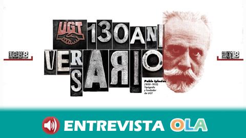 Una exposición en Huelva conmemora los 130 años del sindicato UGT