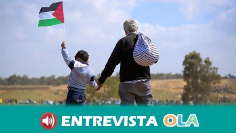 El fin del conflicto y el derecho al retorno son algunas de las reivindicaciones de las personas refugiadas palestinas