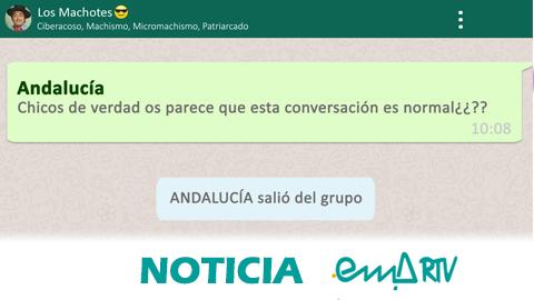 Andalucía Contra la Violencia Hacia la Mujer: Salte del grupo del machismo