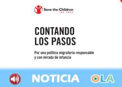 Save the Children alerta de la criminalización que están sufriendo los menores migrantes que están solos en España