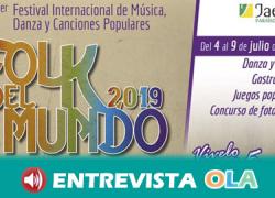 El Festival Folk del Mundo, alberga el arte popular tanto de la provincia de Jaén como de otros rincones del mundo