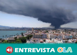 Organizaciones sociales y la ciudadanía de San Roque salen a la calle para alertar sobre la emergencia medioambiental en la Bahía de Algeciras