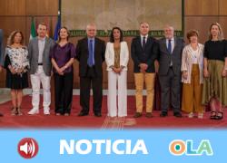 Toman posesión de sus cargos el nuevo director general de RTVA, su Consejo de Administración y el presidente del Consejo Audiovisual de Andalucía