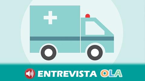 El personal de ambulancias de Asistencia Sanitaria Málaga retoma las protestas por un nuevo convenio