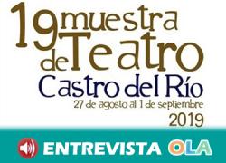 Las artes escénicas vuelven a protagonizar la vida de Castro del Río gracias a una nueva edición de su Muestra de Teatro