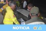 Más de un centenar de personas son evacuadas por el incendio forestal declarado en la localidad malagueña de Estepona
