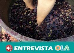 Cómpeta rinde homenaje a la pisa tradicional de la uva en la Noche del Vino