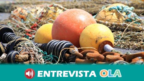 La Cofradía de Pescadores de Barbate denuncia que la proliferación del alga asiática está provocando pérdidas de hasta 500 euros al día