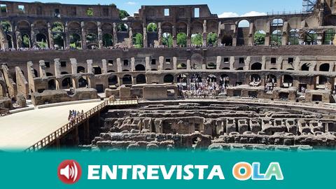 El conjunto arqueológico de Itálica celebra el Día de la Romanidad recreando la vida de este periodo histórico