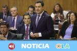 Las discrepancias por la financiación autonómica protagonizan la sesión del Parlamento de Andalucía
