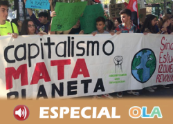 Andalucía se suma a las movilizaciones de la Huelga Global por el Clima para exigir a los gobiernos compromisos reales