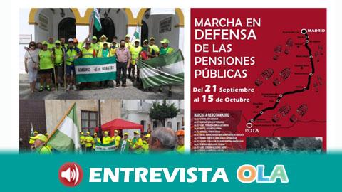 La Marcha por las Pensiones Dignas continúa su recorrido por Córdoba para llevar al Congreso de los Diputados sus demandas