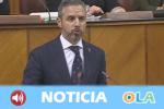 """El consejero de Hacienda defiende los presupuestos """"más sociales de Andalucía"""" mientras el PSOE-A considera que son unas cuentas falsas y supeditadas a la extrema derecha"""