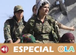 Turquía ataca a la población kurda del norte de Siria y trata de aniquilar su proyecto confederal, feminista y ecologista