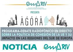 El proyecto 'Radio Ágora' de EMA-RTV continua en Sevilla y La Línea (Cádiz) sus debates radiofónicos sobre las políticas europeas de cohesión