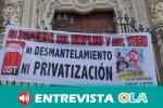 Andaluces de todas las provincias reivindican la necesidad de contar con un tren público y social