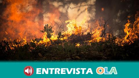 Afectados por el incendio de Doñana se concentran en Sevilla para pedir compromiso de la Junta por los daños del fuego en sus tierras de producción