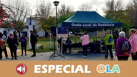 «La Radio en tu Pueblo», de EMA-RTV, abre sus micrófonos a la participación ciudadana de cuatro municipios sevillanos sin un medio de comunicación público de proximidad