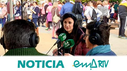 """EMA-RTV y la caravana radiofónica de """"La Radio en tu Pueblo"""" cierran su recorrido para incentivar la creación de medios públicos locales en la localidad sevillana de Cazalla de la Sierra"""