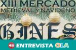 """El municipio sevillano de Gines acoge durante este fin de semana el XIII Mercado Medieval Navideño bajo el lema """"Mil y una formas de soñar"""""""